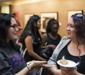 Students converse at WGS 2014 Graduate Meet and Greet
