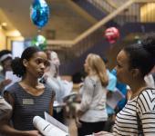 Monica Miller at WGS 2014 Graduate Meet and Greet