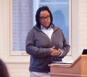 Speaker Tanya Sanders, Williams, Global Commons, Lehigh University WGS