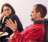 Faculty and guest discussion, Lehigh University WGS, Williams
