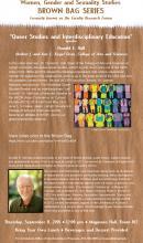 Queer Studies and Interdisciplinary Education Poster