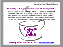 Falu Coffee Talk Flier